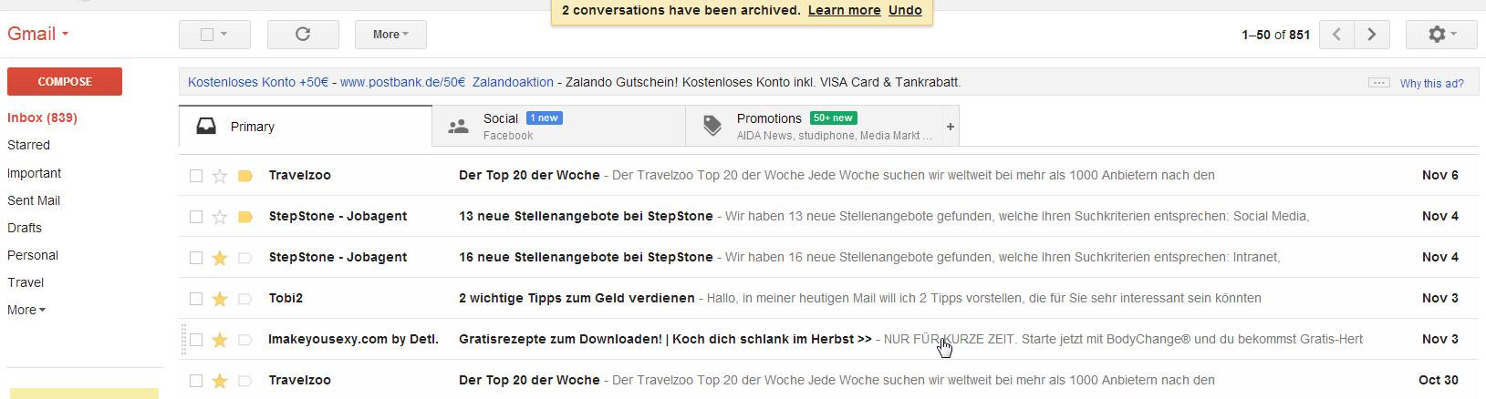 Google Tools Gmail - Mails einfach handeln