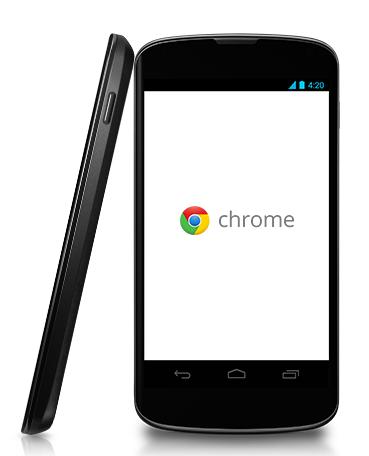 Bandbreitenverwaltung in Chrome Mobile