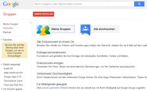 Google Groups - Google Tool zur verbesserten Zusammenarbeit