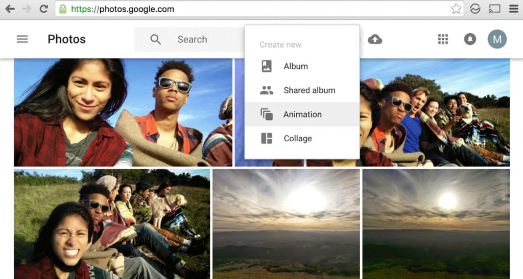 Neue Funktionen in Google Fotos